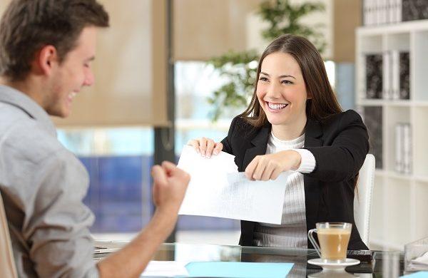 courtier pour résiliation d'hypothèque
