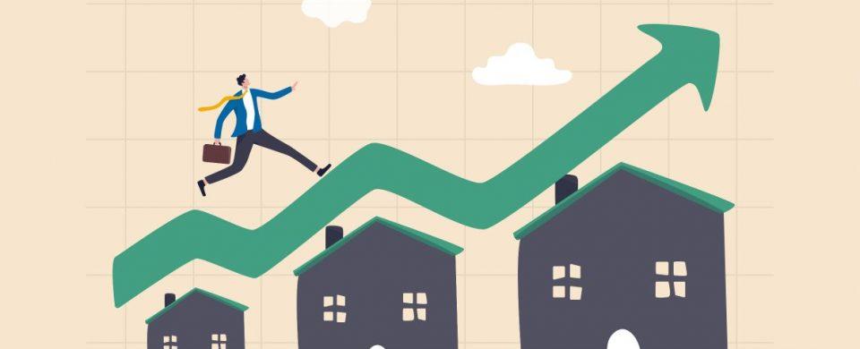 hausse prix maison impact hypotheque